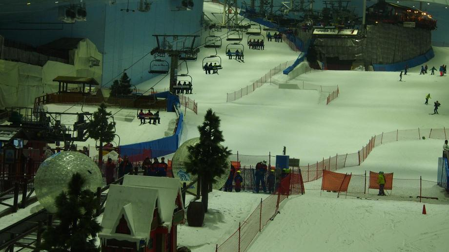 Ski Dubai And Mall Of Emirates